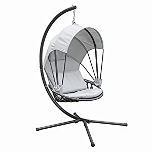 Canopy Shade Hanging Egg Chair