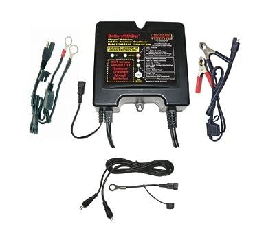 BatteryMINDer 12 Volt 2/4/8 Amp Wet/Gel/AGM Battery Charger