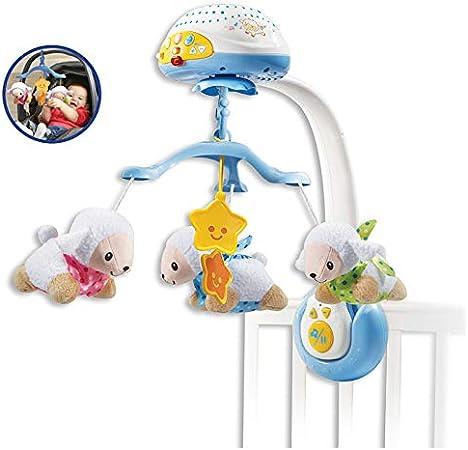 Oferta amazon: VTech - Móvil proyector cuenta ovejitas, juguete de cuna para bebé, más de 70 nanas, canciones, sonidos y frases, incluye mando a distancia (3480-503322)