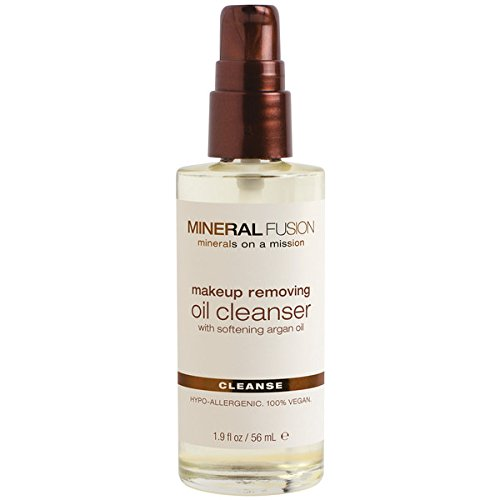 Mineral Fusion Oil Cleanser, Makeup Removing, 1.9 Ounce