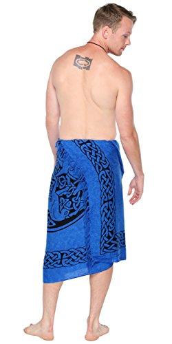 Sarongs da Celtic Blue Men For 1 World Sarong Horse qgBfwxxR