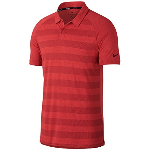Nike Zonal Cooling Stripe OLC Golf Polo 2018 Tropical Pink/Black X-Large