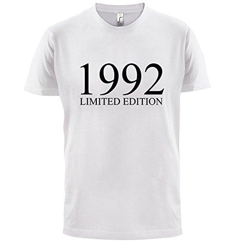 1992 Limierte Auflage / Limited Edition - 25. Geburtstag - Herren T-Shirt - Weiß - XXXL