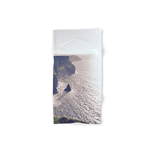 """Society6 Cliffs Of Moher Hand Towel 30""""x15"""""""