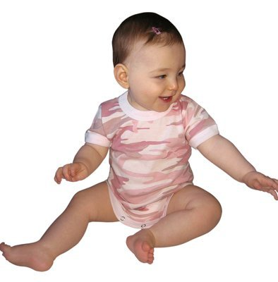 Rothco Infant One-Piece - Baby Pink Camo, 42356 Size