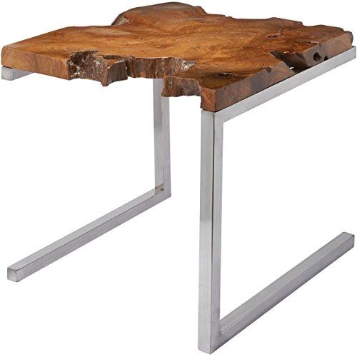 Dimond Home 162-003 Teak Table with Angular Base, 22
