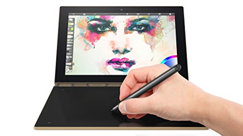 "Lenovo Yoga Book - FHD 10.1"" Android Tablet - 2 in 1 Tablet (Intel Atom x5-Z8550 Processor, 4GB RAM, 64GB SSD), Champagne Gold, ZA0V0091US"