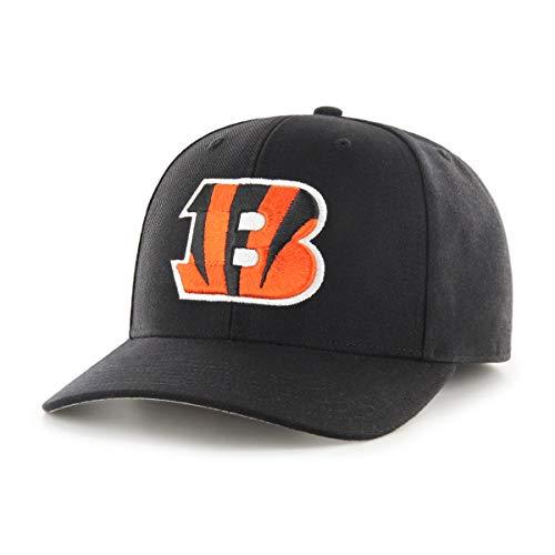 OTS NFL Cincinnati Bengals Male All-Star Dp Adjustable Hat, Black, One Size ()