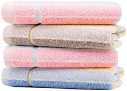 CQIANG タオル、綿タオル、強力吸収タオル、イエロー/ブラウンマルチカラーオプション70 * 34 Cm (Color : Multi-colored, Design : E)