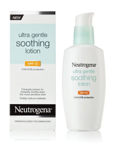 Neutrogena Ultra Doux Lotion Apaisante SPF 15, 4 once