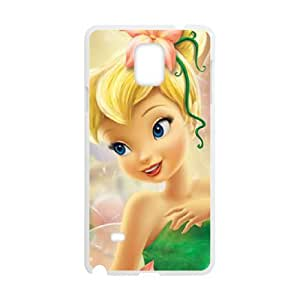 Classic Case Tinker Bell pattern design For Samsung Galaxy Note 4 Phone Case
