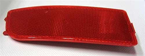 Exerock Red Lens Rear Bumper Reflector Right Driver Side Compatible with 2006-2016 Mercedes Sprinter 250 350