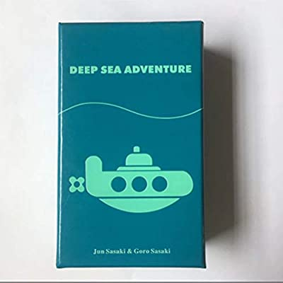 LQT Ltd Top Card Games 2-6 Players Family/Party Best Gift for Children Funny English Game Deep Sea Adventure Board Game: Toys & Games