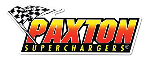 Paxton Superchargers Racing Performance Logo'd Full Color Window Decal Sticker