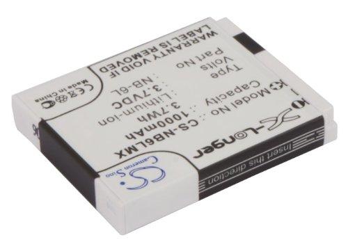 Cameron Sino Rechargeble Battery for Canon IXUS 300hs (1000 mAh / 3.7 WH)   B01DNNJJI4
