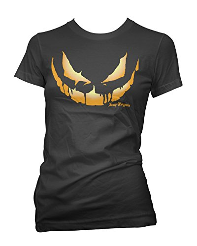 Aesop Originals Women's Samhain Everyday is Halloween T-Shirt 2XL Black (T-shirt Aesop Rock)