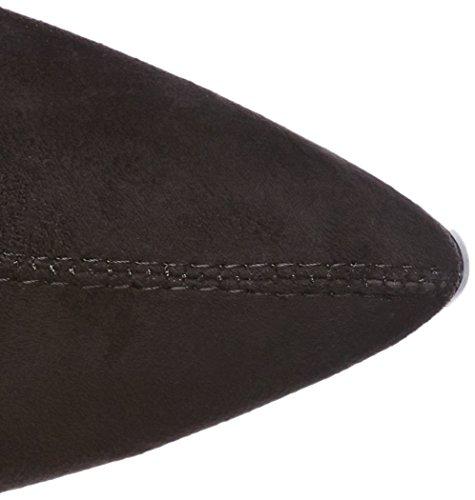 Buffalo Shoes 180209 - Botas Altas con Tacón Para Mujer Negro (Black 01)