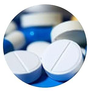 alfombrilla de ratón tabletas de medicina, píldoras - ronda - 20cm