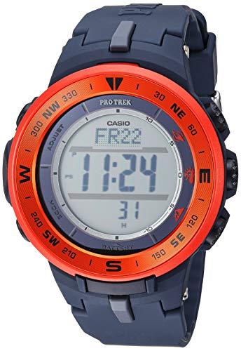 - Casio Men's ProTrek Stainless Steel Quartz Watch with Resin Strap, Black, 24 (Model: PRG-330-4ACR)
