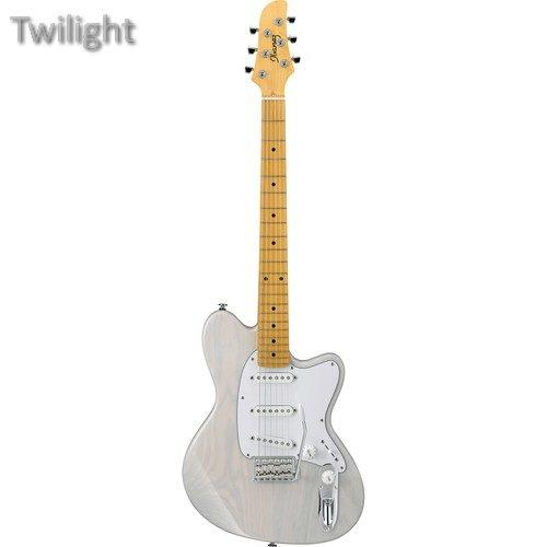 (Ibanez TM1730AHM Talman Prestige Series Electric Guitar (Antique White Blonde))