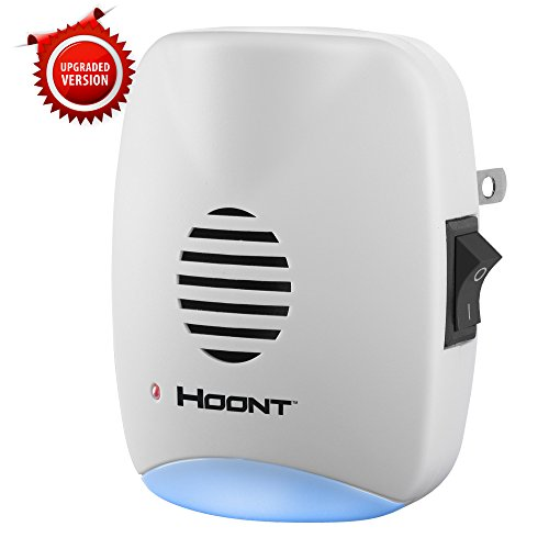 Hoont Indoor Plug-in Ultrasonic Pest Repeller with Night Light