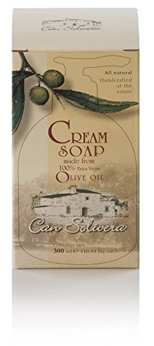 Can Solivera - 100% Pure Extra Virgin Olive Oil Liquid Soap, Made by Medieval Receipe. Bottle of 300ml (10fl Oz.),