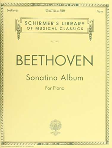SONATINA ALBUM FOR PIANO     CENTENNIAL EDITION (Schirmer's Library of Musical Classics)