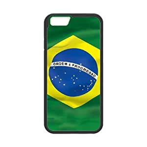 iPhone 6 4.7 Inch Cell Phone Case Black Brazil Flag LSO7780180
