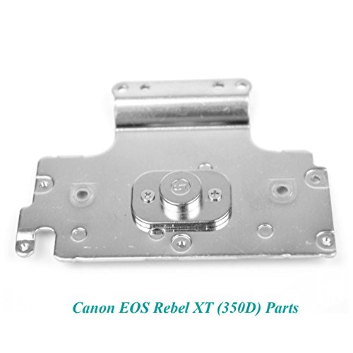 - Genuine Canon EOS Digital Rebel XT / 350D Base Bottom Silver Tripod Plate- Replacement Parts