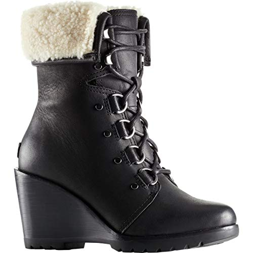 Hours Shell Boot After Suede Donna Sheared Black Sorel After qAYwaCw