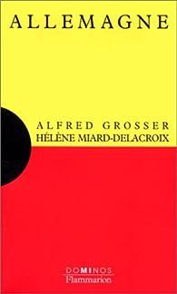 Allemagne par Alfred Grosser