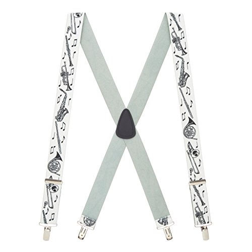 Suspender Store Men's Musical Instruments Suspenders