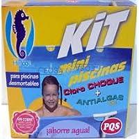PQS-1617028 kit mini piscinas cloro+antialgas