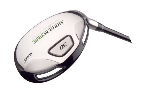 Nickent 3DX DC Utility (Left-Handed, 5-19 degree with regular graphite Speed Rated 2 shaft) by Nickent (Image #1)