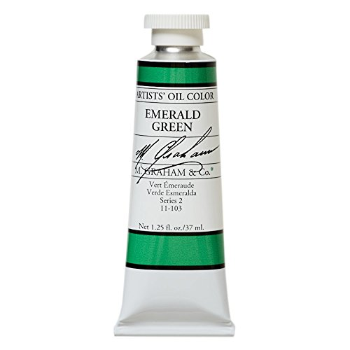 M. Graham & Co. Oil Paint, Emerald Green (Best Emerald Green Paint Colors)