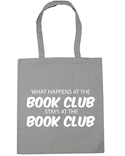 the Light club litres Gym the book x38cm stays Grey book Beach at Bag Tote club What Shopping at 42cm happens HippoWarehouse 10 pvxqtwRp