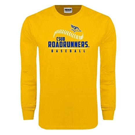 new style a91cf d3527 Amazon.com : Cal State Bakersfield Gold Long Sleeve T Shirt ...