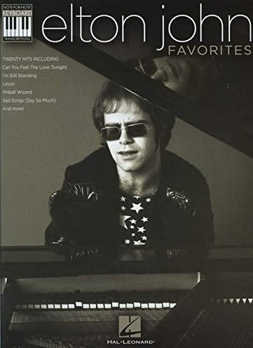 Elton John Favorites: Note-for-Note Keyboard Transcriptions (Keyboard Recorded Versions) ()