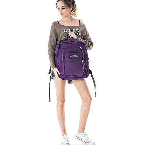 6f2436182 JanSport Big Student Classics Series Backpack - Vivid Purple - Import It All