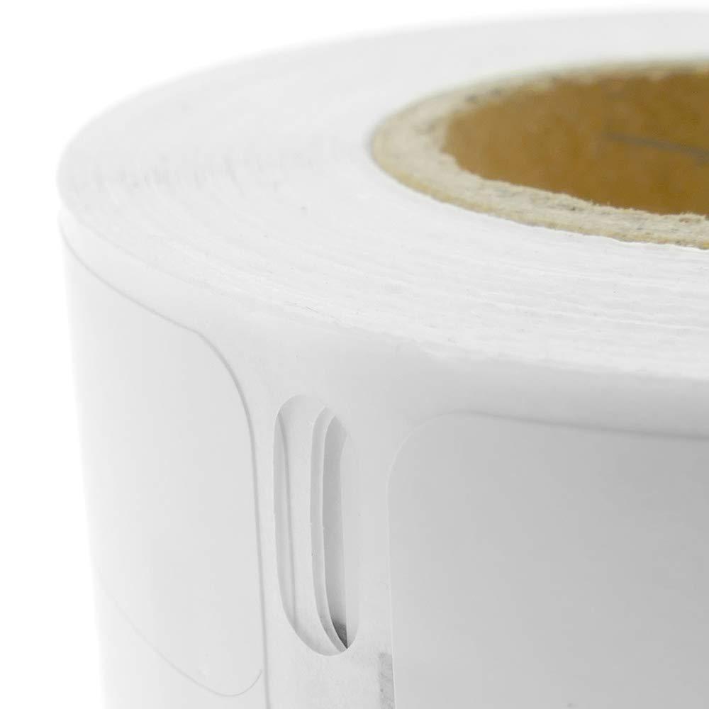 BeMatik Rollo Bobina de 110 Etiquetas Adhesivas compatibles con Dymo S0722470 y Dymo 99018 190x38mm 10-Pack