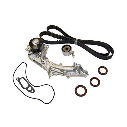 DNJ TBK282BWP Timing Belt Kit with Water Pump for 1996-1998 / Acura/TL / 3.2L / SOHC / V6 / 24V / 3206cc / C32A6