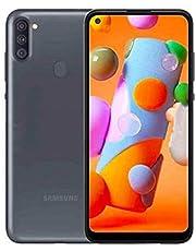 """Samsung SM-A115 Dual SIM Galaxy A11 Smartphone, 2GB RAM, 32GB ROM, 6.4"""", Black"""