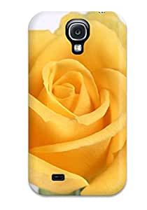 Christena Hakanson's Shop Best 3435667K87746079 Case Cover For Galaxy S4 - Retailer Packaging Yellow Flowers Protective Case