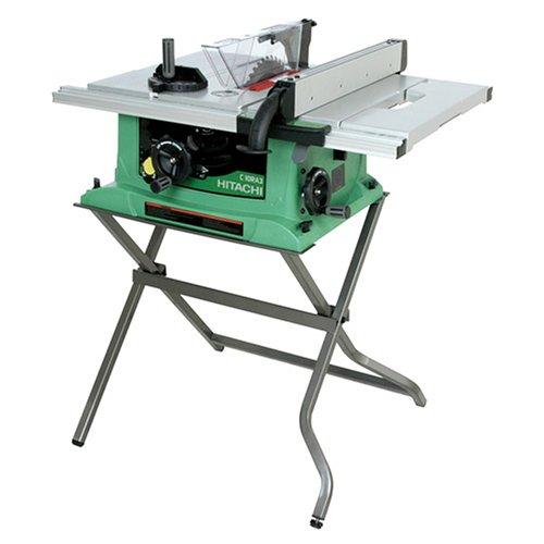 Hitachi 10-inch Jobsite Table Saw and Stand