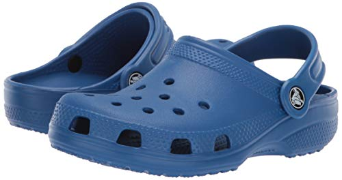 Crocs Kids' Classic Clog, blue jean, 6 M US Toddler by Crocs (Image #6)