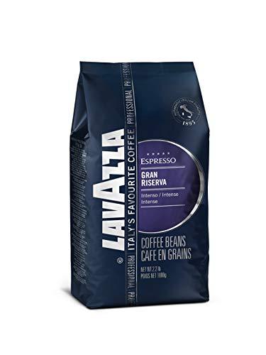 - Lavazza Gran Riserva Whole Bean Coffee Blend, Dark Espresso Roast, 2.2-Pound Bag
