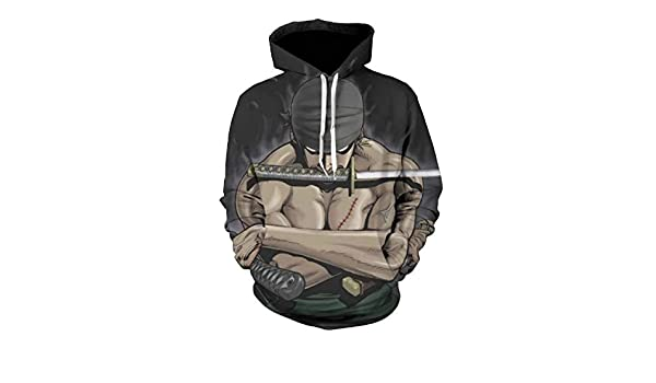 Amazon.com: One Piece Hoodies Pullover Sweatshirt Monkey D Luffy Ace Sabo Shanks Law Battle: Clothing
