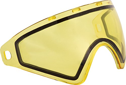 Virtue VIO Replacement Paintball Goggle Lens - Fits Ascend/Contour/Extend and XS Masks - Thermal High Contrast Yellow
