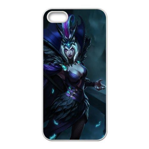 C5Z11 League of Legends X4W4XW coque iPhone 4 4s cellulaire cas de téléphone couvercle coque blanche KO8MWJ3PW