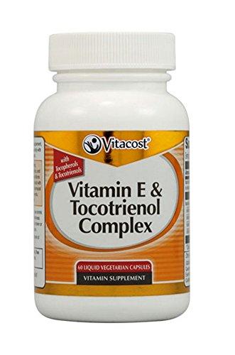 Vitacost Vitamin E & Tocotrienol Complex 60 Liquid Vegetarian Capsules